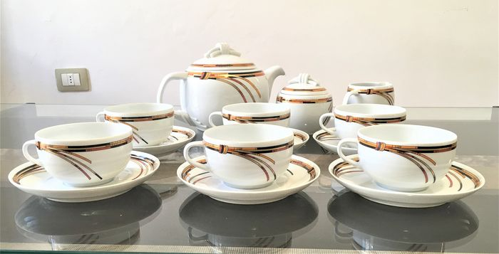 Christian Dior - Limoges - full tea service for 6 - Porcelain