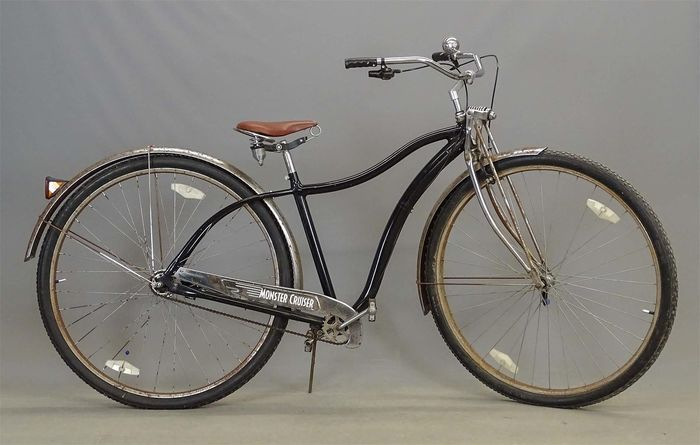 Monster cruiser - 36 inch wheels - Road bicycle - 2005