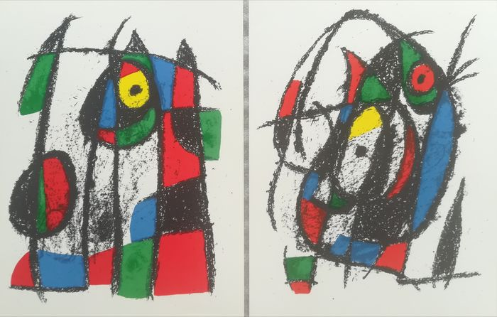 Joan Miro - Lithographie IV & VII, Volume II, édition italienne