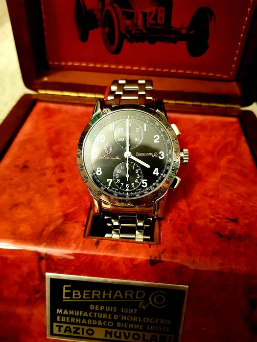Eberhard & Co. - Tazio Nuvolari Gold Car Collection - 31037 - Men - 2000-2010