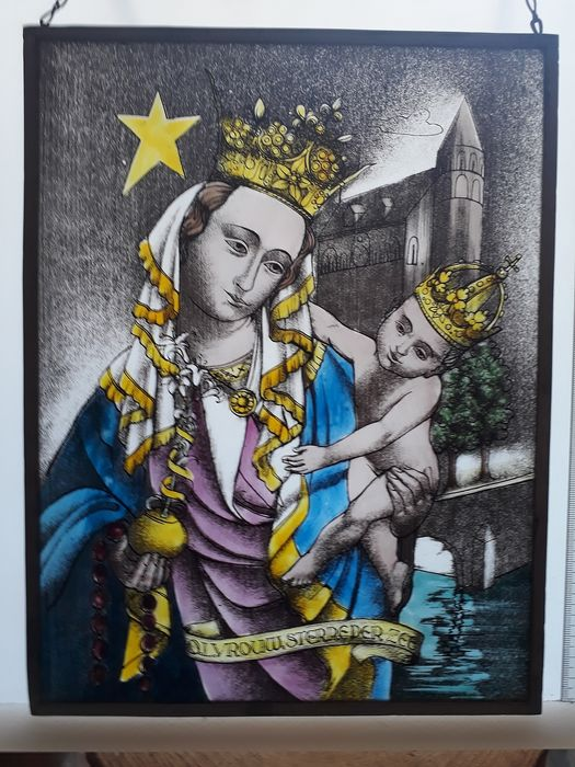 Maria Sterre der Zee - Stained glass