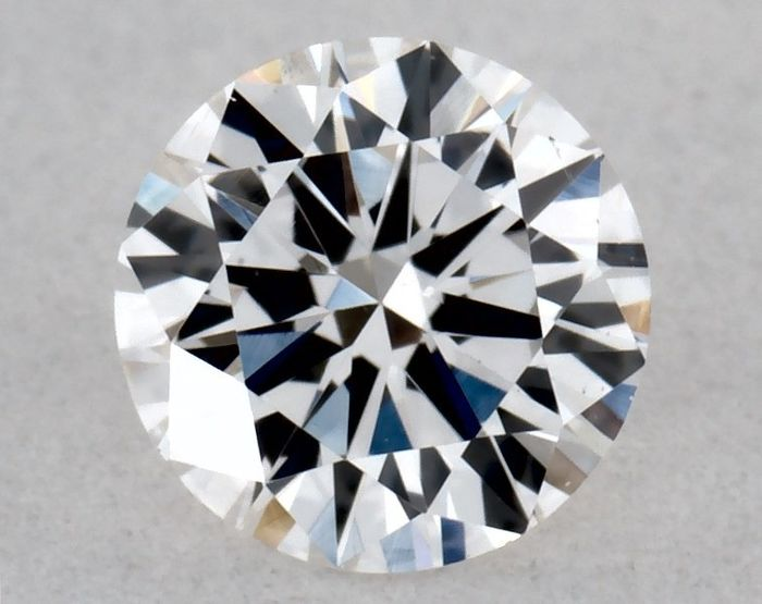 1 pcs Diamant - 0.23 ct - Brillant, Rond - E, 3x Very Good - VS2, ** Low Reserve Price **