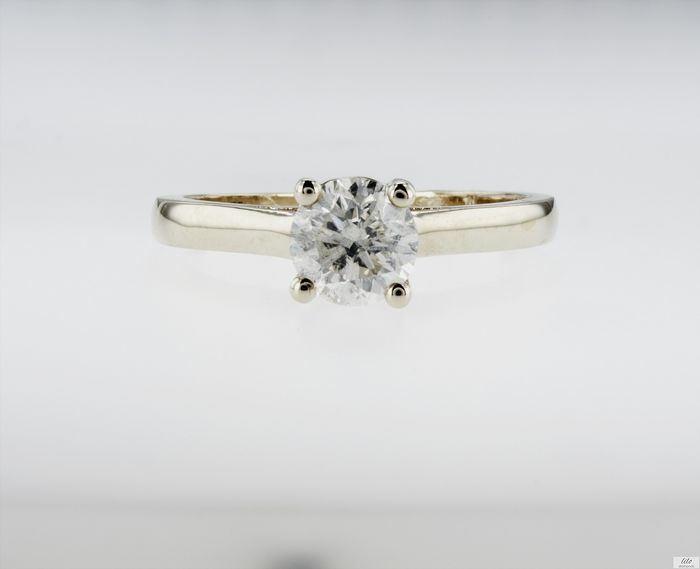 14 kt. Yellow gold - Ring - 1.00 ct Diamond - No Reserve Price