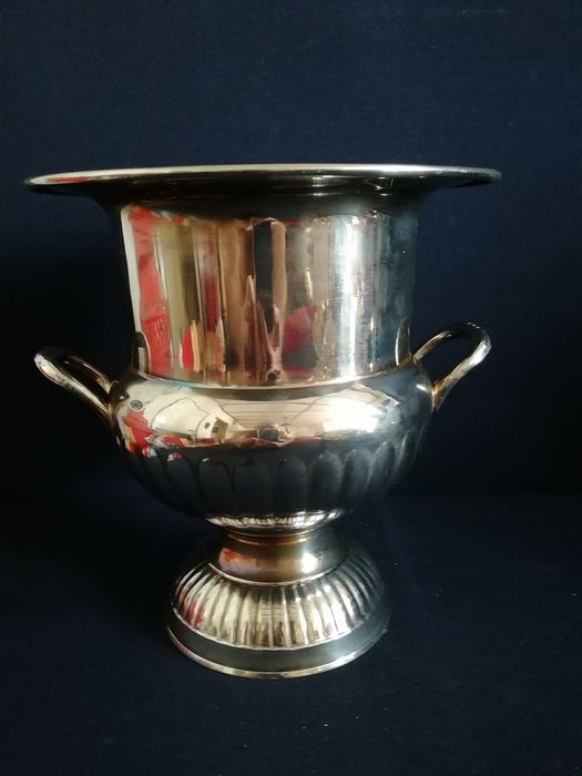 Beautiful silver plated ice bucket - England - period circa 1960 (1) - Silver plated - England - Second half 20th century