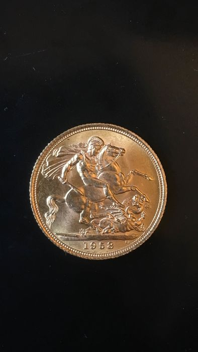 Great Britain - Sovereign 1958 Eizabeth II  - Gold