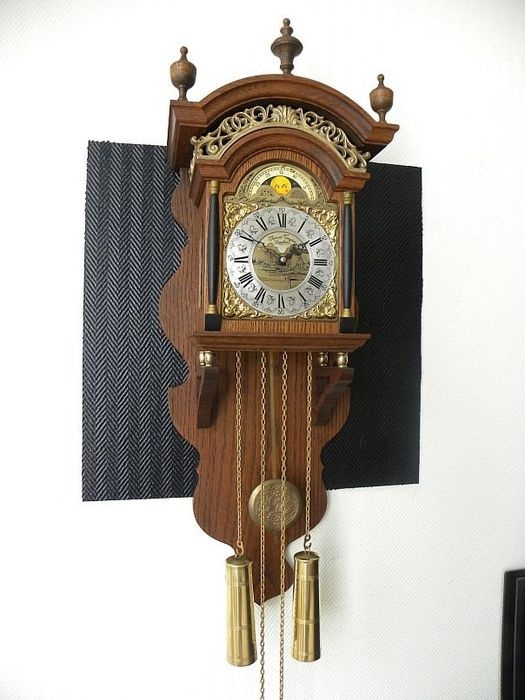 Thomas Tompion - Wall clock - Bronze, Wood