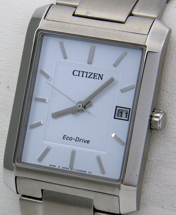 "Citizen - Eco Drive Elegant Watch ""White Dial"" Sapphire - - ""NO RESERVE PRICE"" - - Hombre - 2011 - actualidad"