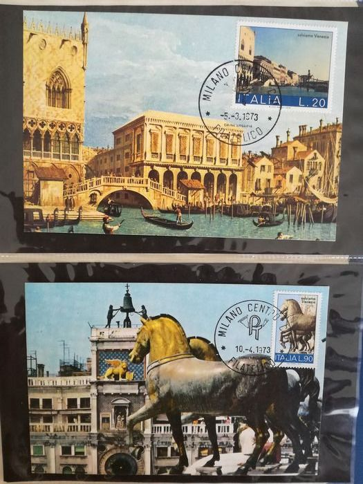 Italy Republic 1952/1986 - Lot of 268 FDC and covers