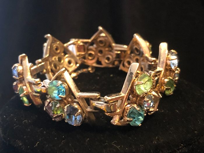 Gold-plated - Barclay crystal bracelet