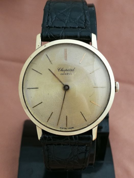 Chopard - 18K Gold - Hand Winding  - Men - 1980-1989