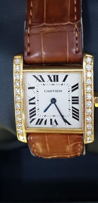 Cartier - Tank Francaise - 1821 - Mujer - 2000 - 2010