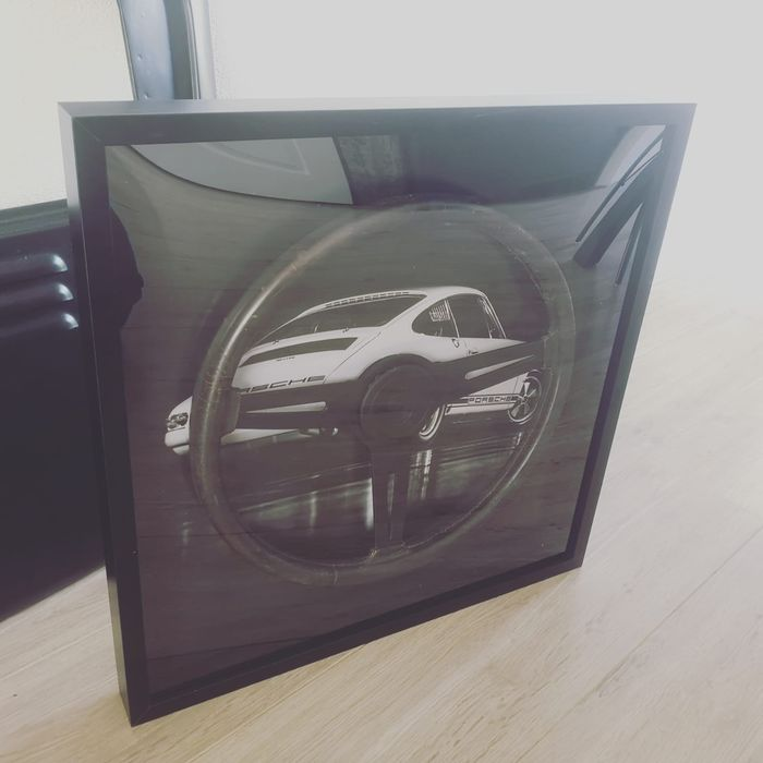 Frame - Porsche - 911R Tribute framed Steering Wheel - 1967