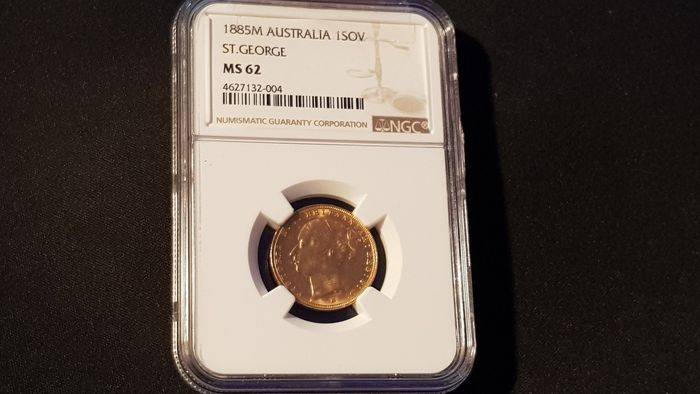 Australia - Sovereign 1885-M Victoria - Gold