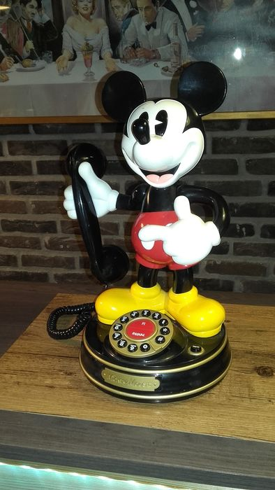 Other - Mickey Mouse  telefoon - First edition - (1990)