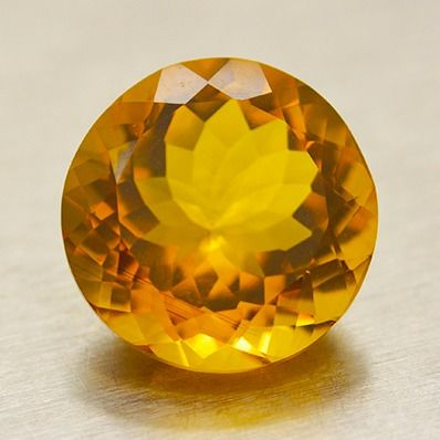 Madeira Color Citrine - 11.86 ct