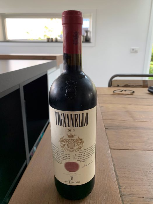 2015 Tignanello Marchesi Antinori - Toscana IGT - 1 Bottle (0.75L)