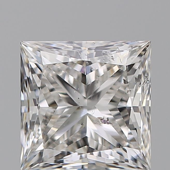 1 pcs Diamante - 1.40 ct - Princesa - G - SI2