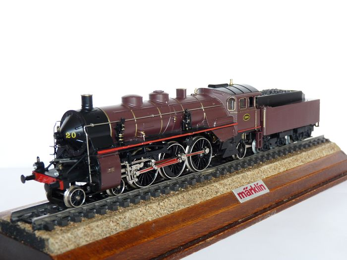 Märklin H0 - 3111 - Steam locomotive with tender - Series 59 - NMBS