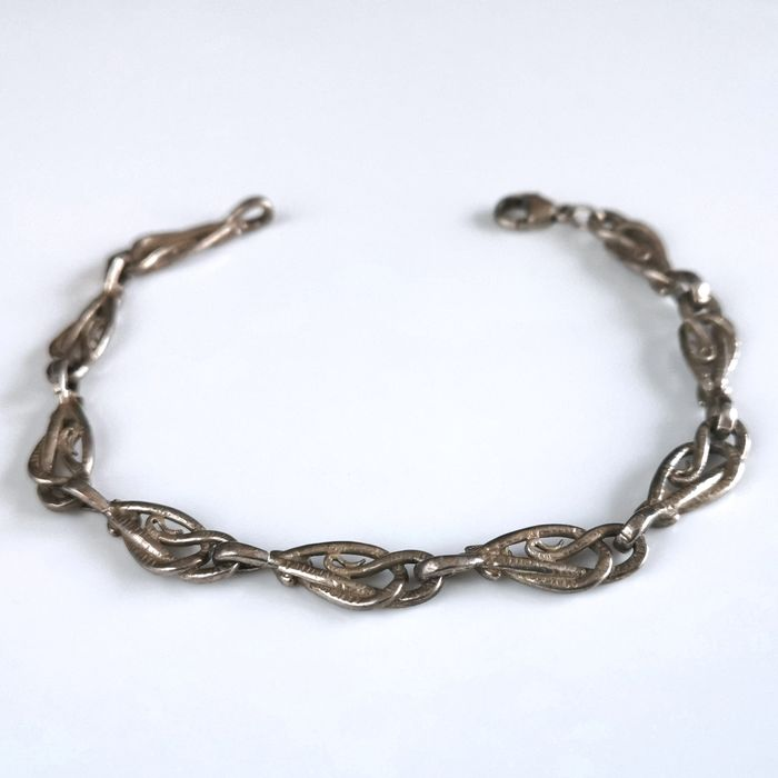 925 Sterling Silver - Weight 13.62 g - Bracelet