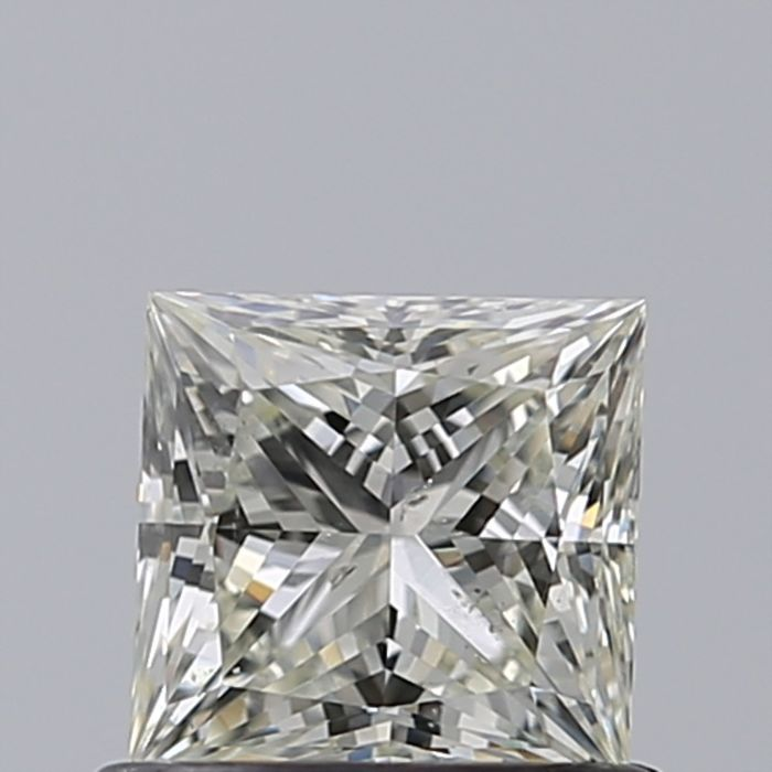 1 pcs Diamond - 0.70 ct - 公主方形 - J - SI1 微内含一级