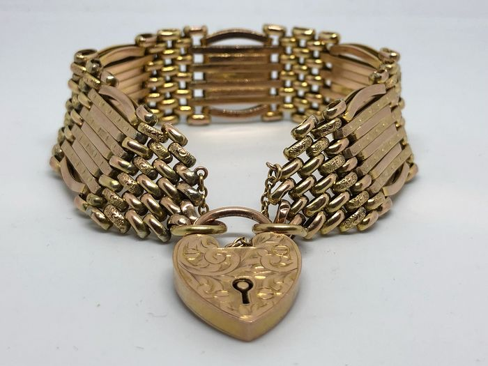 LW&G Made in England  - 9 ct Yellow gold - Bracelet