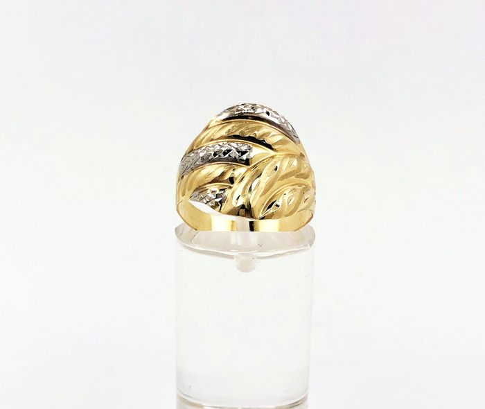 14 kt yellow gold - ring