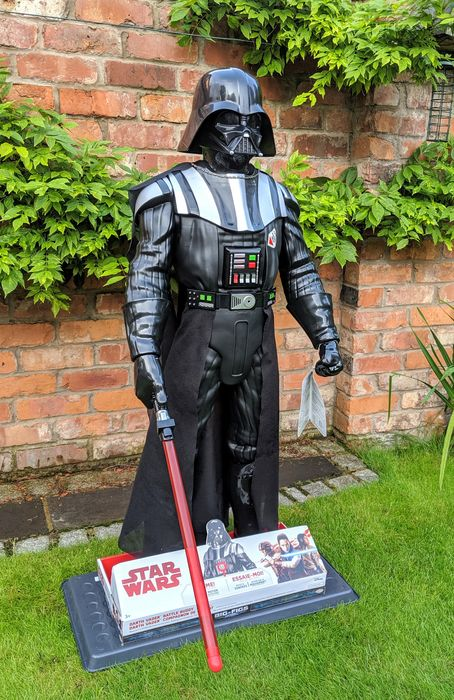 Star Wars - Jakks Pacific USA - Big Figs Colossal - Huge Darth Vader  122cm electronic figure