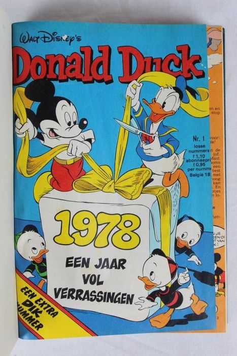 Donald Duck weekblad - privé bundelingen - 1978 t/m 1984 compleet - First edition - (1978/1984)