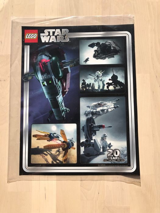 LEGO - Star Wars - Poster 20th anniversary - TO POST