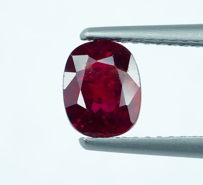 No Reserve - Red Ruby  - 1.23 ct