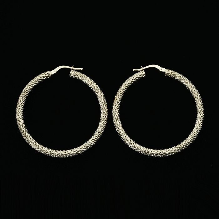 18 kt. White gold - Earrings