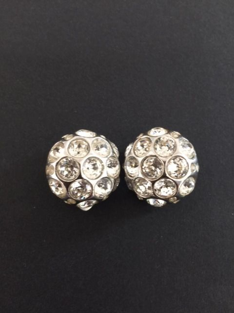 Christian Dior 1 pair of clips earrings