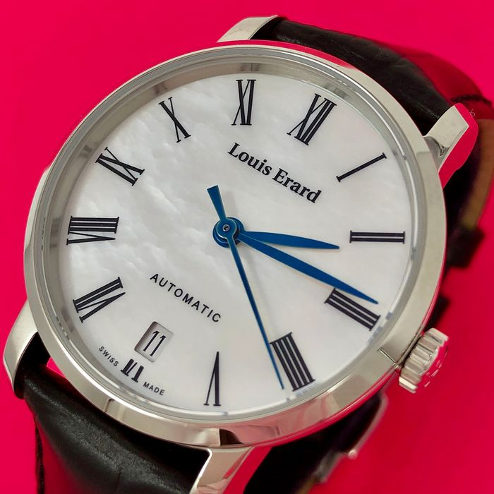 Louis Erard - Automatic Excellence Collection Mother of Pearl Swiss Made - 68235AA04.BDC62 - Dames - BRAND NEW