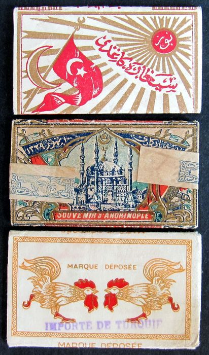 3 Ottoman rolling cigarette papers - Paper