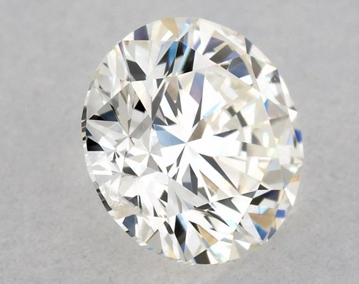 Diamond - 0.43 ct - Brilliant, Round, 3x Excellent - H - SI1, Free D2D Shipping
