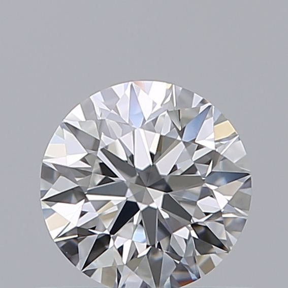 1 pcs Diamond - 0.50 ct - Brilliant - E, ***3EX*** - IF (flawless)