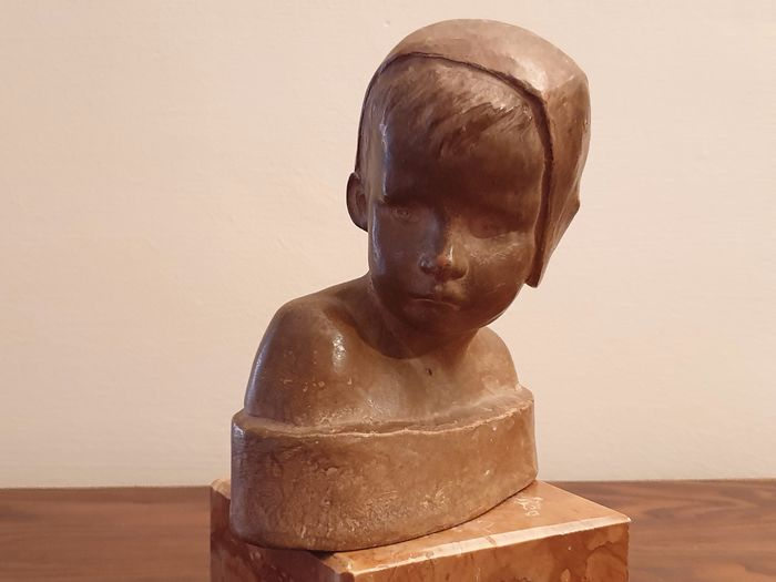 SUSSE Fres - Sculpture - Earthenware - Late 19th century