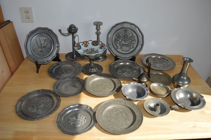 All kinds of (25) - Pewter/Tin