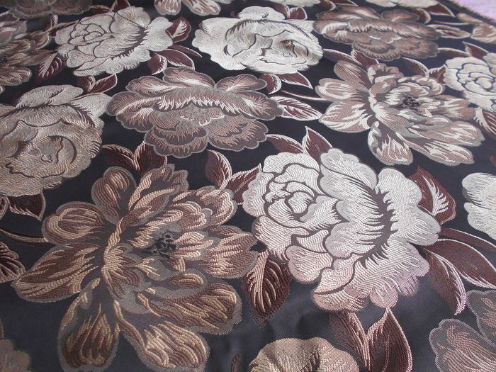 5 mt of Jacquard damask fabric for upholstery - fabric