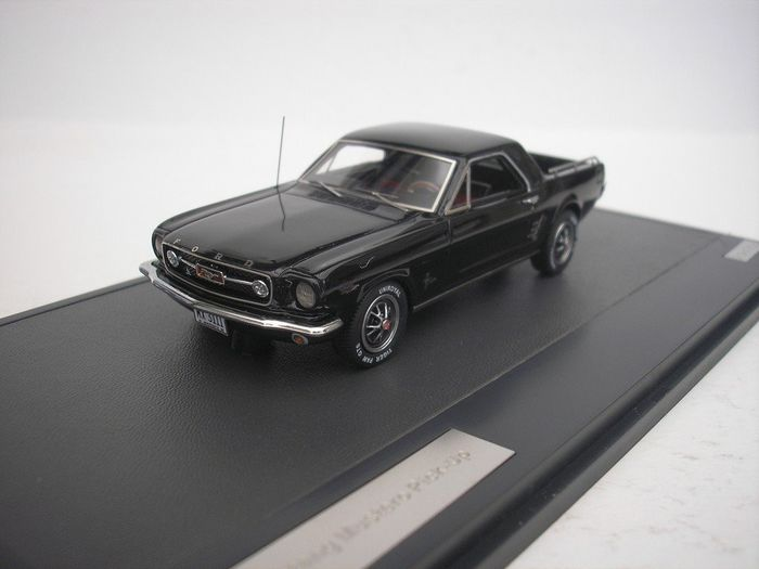 Matrix - 1:43 - Ford Mustang Mustero Pick-Up 1966 - Black - 408 pcs