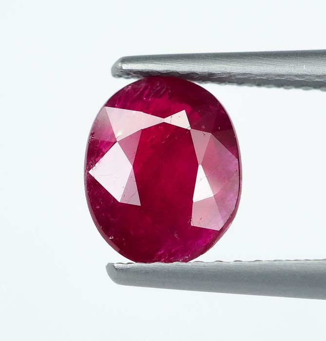 No Reserve - Red Ruby - 1.39 ct