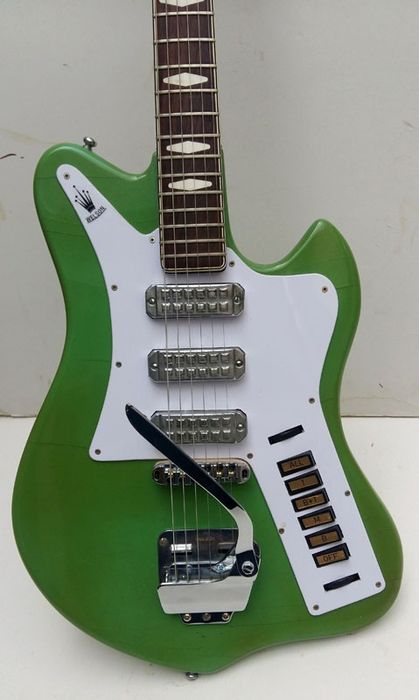 WELSON - Kinton 2V - solid body - Italie 1963 - Electric guitar - Italy -  1963 - Catawiki