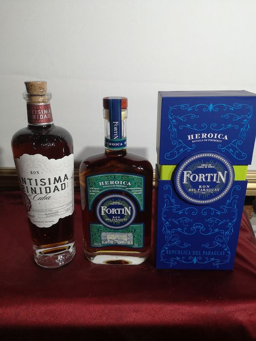 Fortin Heroica (Paraguay), Santisima Trinidad de Cuba 15 years old - 70cl - 2 bouteilles