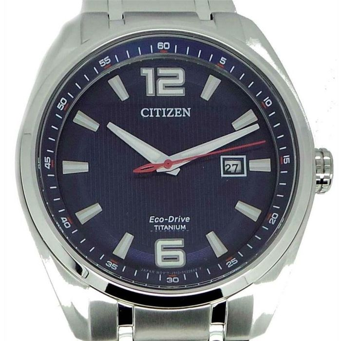 "Citizen - ""NO RESERVE PRICE"" Collezione PILOT in SUPER TITANIO - Eco Drive - AW1244 - Men - 2019"