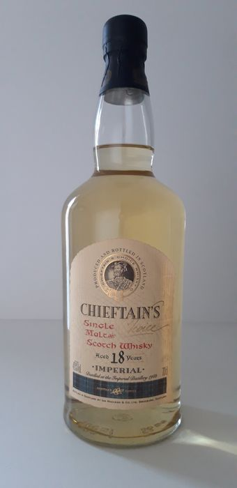 Imperial 1982 18 years old Chieftain's Choice - Ian MacLeod - 70cl