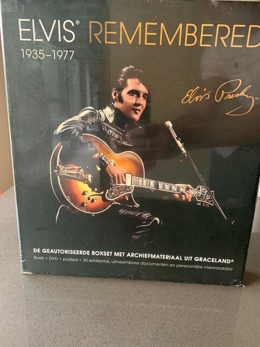 Elvis Presley - Elvis Remembered - Boek - 2012/2012