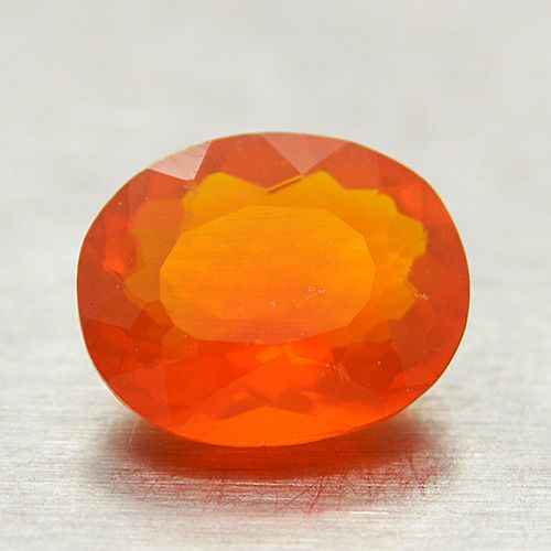 Orange Fire Opal - 0.99 ct