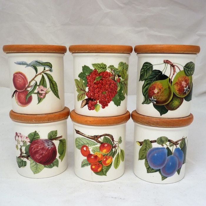 Portmeirion - Herb pots POMONA (6) - Earthenware