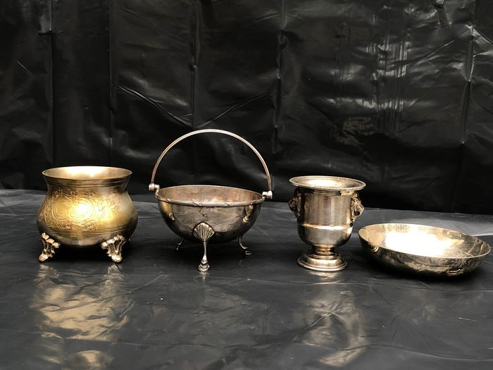 Epns - pots - Silverplate