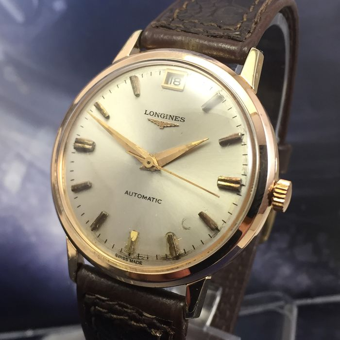 "Longines - Flagship Cal.341  Automatic - ""NO RESERVE PRICE"" - Hombre - 1960-1969"